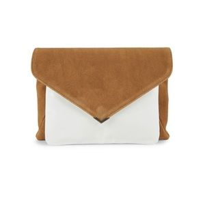 Sam Edelman Mila 2-in-1 Suede Clutch